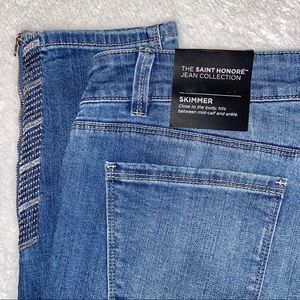 WHBM NWT Skimmer Jeans Saint Honore Jean Size 10